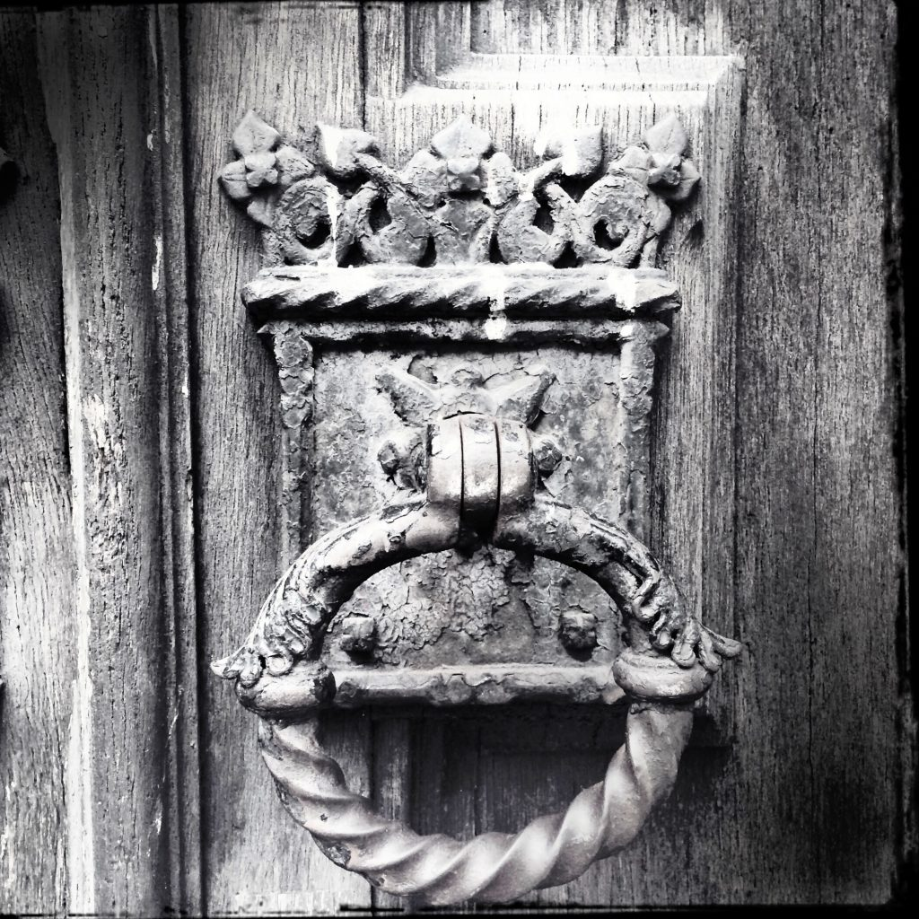 Door Handle of Church